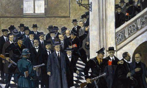 Aresztowanie-profesorów-mal.-Mieczysław-Wątorski-1956-rok-